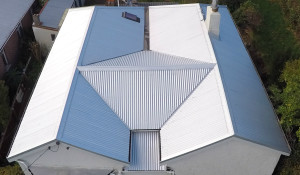 Reroof by Promax Coating Systems and Roofing